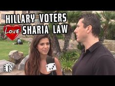 Hillary Supporters Endorse SHARIA LAW in AMERICA! - YouTube