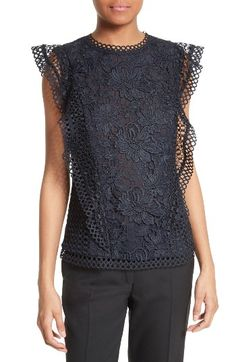 Zania Lace Top TED BAKER LONDON $239.00