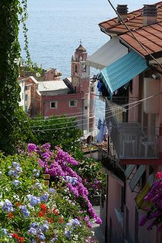 Tellaro, Liguria Italy more chinque terre. I really loved it there but I think going in october made it more enjoyable cause I just missed the large crowds.