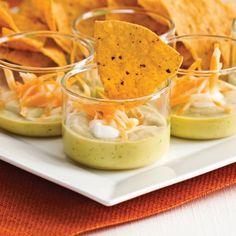 Verrines Chili Chaimae et nachos