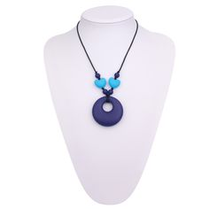 teething necklace for baby, Food grade silicone teething necklace|teething necklace for baby