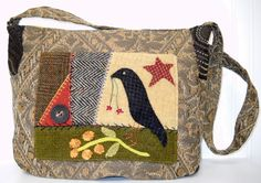 Day Tripper Purse and Travel Bag pattern by kerrystitchdesigns