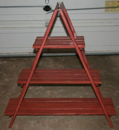 Builders Showcase: A Frame Plant Stand - The Design Confidential www.thedesignconfidential.com