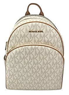 b45a94575d6099 MICHAEL Michael Kors Abbey Jet Set Large Leather Backpack... https://