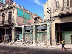 Vía Yusnaby.com La Cuba no comercial - decadente, destruida y real