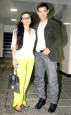 Aamir Khan with Rani Mukerji at special bash for 'Ship of Theseus' #Bollywood #Fashion