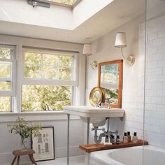 Suzie: Elle Decor - Kevin Carrigan & Tim Furzer - Chrome sconces with white shades and gray ...