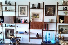 Swank Interiors Palm Springs: Mid Century Danish Design at it's finest -- CADO Royal System Wall Unit