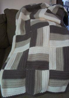 Log cabin afgan Crochet baby hats crochet An owl knitting! Crochet Afgans, Crochet Quilt, Knit Or Crochet, Crochet Stitches, Crochet Baby, Afghan Patterns, Crochet Blanket Patterns, Knitting Patterns, Cute Blankets