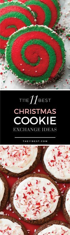 The 11 Best Christmas Cookie Exchange ideas and recipes More (xmas cookies best) Christmas Cookie Exchange, Best Christmas Cookies, Christmas Snacks, Christmas Cooking, Noel Christmas, Christmas Goodies, Holiday Cookies, Holiday Treats, Holiday Recipes