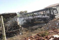 JUIZ DE FORA SEGURA  : Seis ônibus são incendiados e ficam destruídos em ...