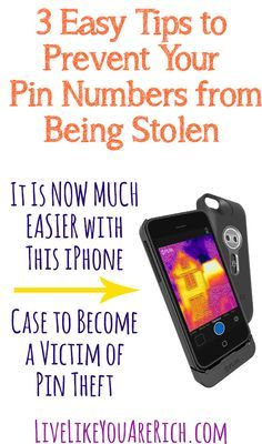 Pin theft can now occur after you walk away from the cash register with this new iPhone case. Here are 3 simple tips to avoid it. #LiveLikeYouAreRich