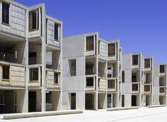 Salk Institute in La Jolla by Louis Kahn