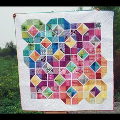 Leaded Glass quilt.