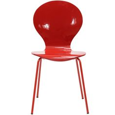 @Overstock - This creatively styled chair is sure to draw attention and admiration to your dining room or kitchen decor. The molded wood laminate chair features a bright red finish.   http://www.overstock.com/Home-Garden/Insect-Red-Side-Chair/6673125/product.html?CID=214117 $84.99