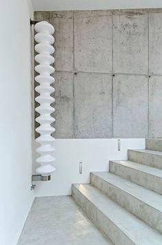 Interieurtrend: beton mag gezien worden / www.woonblog.be