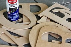 How to make giant letters