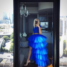 Women S Shoe Size Guide (European Equivalents) Key: 958921091 Tulle Skirt Dress, Tulle Skirts, Blue Tulle Skirt, Flared Skirt, Skirt Fashion, Fashion Dresses, High Low Prom Dresses, Girly Outfits, Casual Outfits