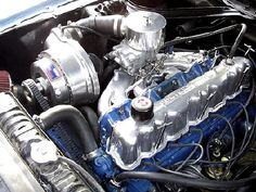 Boosted-Injected Ford 200 ci I-6 with Aussie 2-V head