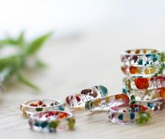 This beautiful ring is a Buttonsy signature. real flowers, in a rainbow of colours, hand-dyed by us set in crystal clear resin - truly magical! By ButtonsyJewellery on Etsy, lots of beutiful jewellery on their page! Rainbow Flowers, Rainbow Colors, Clear Resin, Rainbow Baby, Garden Gifts, Real Flowers, Holiday Gift Guide, Hand Coloring, Instagram Posts