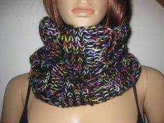 gestrickt - Loop mit Mohair, Schlauchschal, Schal, gestrickt - ein Designerstück von IDS-Style bei DaWanda