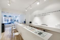 Larsson & Jennings watch store by Campaign Design, London   UK watches