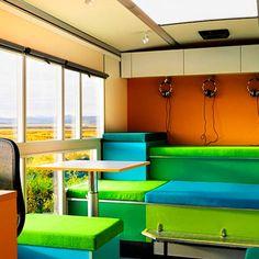 Library bus by Muungano - Dezeen