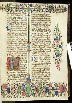 Breviary, MS G.7 fol. 26r - Images from Medieval and Renaissance Manuscripts - The Morgan Library & Museum