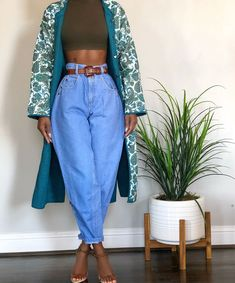 New Arrivals will be live on the site Sunday at CST🌱 Chic Tribe Newcomers, Random&Chic is a modern-contemporary online vintage store. Black Girl Fashion, Look Fashion, 90s Fashion, Fashion Outfits, Womens Fashion, Winter Fashion, Fashion Tips, Classy Outfits, Chic Outfits