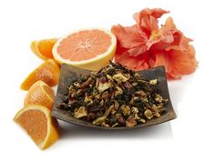 Be transported to the wild orange groves off the coast of South America in a cup of this bright citrusy and exotic floral blend. Brimming with a symphony of melodic succulent flavors including juicy oranges, soft marigolds, hibiscus and rose petals, this deliciously sweet green oolong tea ends with a lovely lyrical floral note. Wonderful, served hot or iced.