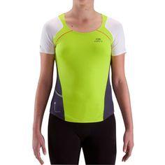 e7b272ae5 Deporte Running - Camiseta de manga corta de running mujer Kalenji Kiprun  lima