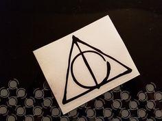 Harry Potter Deathly Hallows 2 Decal Sticker Window Car Laptop