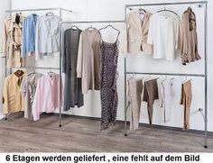 Fresh Details zu begehbarer Kleiderschrank KLEIDERSTANGE Kleiderst nder GARDEROBEZIMMER Art W
