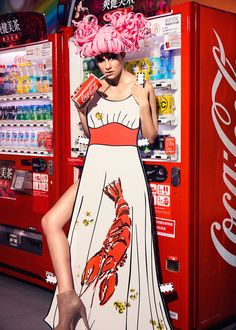 <p>Taiwan-based photographer Ajax Lee 'Reality Paper Doll' took him 4 months of research and study to create that editorial. He chose a selection of iconic pieces, from the 30's to the 201