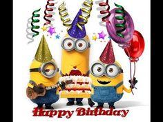 Happy Birthday! - Minions ^_^ - YouTube
