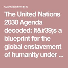 Agenda 21 replacement migration united nations youtube the united nations 2030 agenda decoded its a blueprint for the global enslavement of humanity malvernweather Gallery
