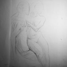 #art #sketch #skething #15min #nude #drawing #draw #обнаженка #наброски Модель Алёна
