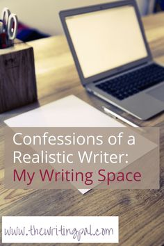 It can be hard to write if you think you need the perfect writing space. However, it's not hard to create a simple, yet successful writing space. Fiction Writing, Writing Quotes, Writing Advice, Writing Help, Writing A Book, Writing Prompts, Writing Ideas, Writing Websites, Writing Resources
