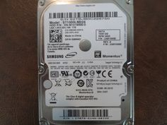 Samsung ST1000LM024 HN-M101MBB/D REV.A FW:2AR10002 DGT 1.0TB Sata (Donor for Parts) - Effective Electronics