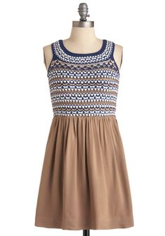On the Skein Dress ($94.99) via Modcloth. This would complement my skintone well