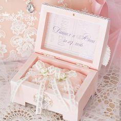 """Купить """"Персиковый цвет"""" шкатулка для колец - кремовый, аксессуары, Аксессуары handmade, аксессуары для фотосессий"""