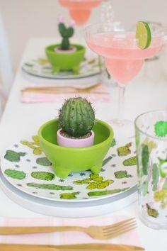 Throw a Cactus Fiesta Party to celebrate Cinco de Mayo