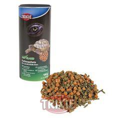 DIETA PARA TORTUGAS TERRESTRES TRIXIE Alimento completo para tortugas terrestres y otros reptiles herbívoros. Envase de 600 g (1000 ml). http://www.geckolandia.com/alimentacion/dieta-para-tortugas-terrestres-trixie--299#