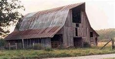 Barn in Canada, looks just like Great Grandfather's Barn in Rural Mississippi