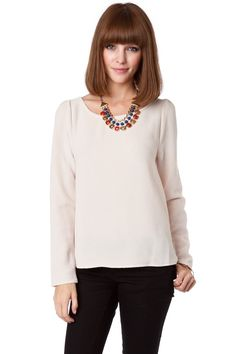 Cheval Long Sleeve Top / ShopSosie #tops #longsleeve #shopsosie