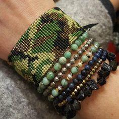 Schemat na bransoletkę na krośnie – MORO | Royal-Stone blog