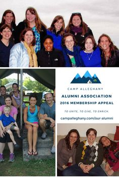 It's a great time of year to begin (or renew) a Camp Alleghany Alumni Association (CAAA) membership. At only $50 a year ($25 if you're under 25) you'll help support the mission of both Camp Alleghany and the alumni association, and get sweet benefits to boot! http://campalleghany.com/camp-alleghany-alumni-association-membership-appeal/