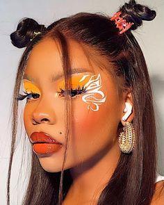 J Makeup, Face Paint Makeup, Glam Makeup Look, Black Girl Makeup, Makeup Goals, Girls Makeup, Beauty Makeup, Makeup Inspo, Cute Makeup Looks