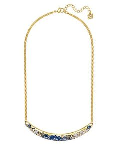 Swarovski Crystal and 18K Gold-Plated Necklace Women's Multi