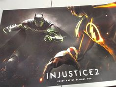 Injustice 2 promotional poster leaked